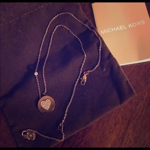 Michael Kors Jewelry - Authentic Michael Kors Rose Gold Necklace NWOT